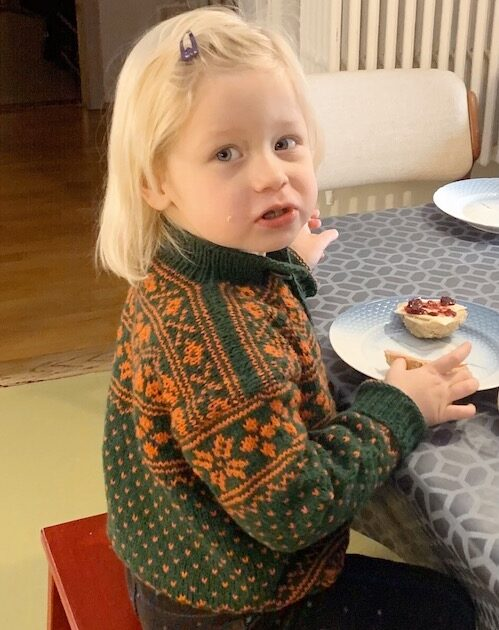 Telemarks sweater på Barn