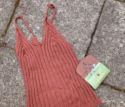 Camisole nr 2 i mørk rosa